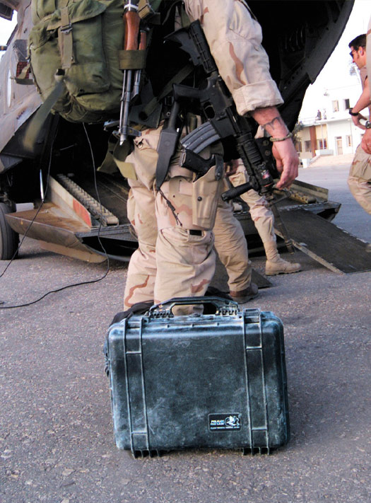 pelican explosion survival story military case