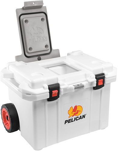 pelican college tailgate heavy duty cooler
