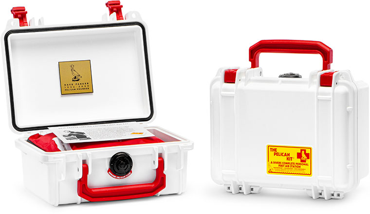 pelican dave parker memorial first aid case