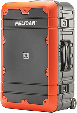 pelican products carry-on rolling wheeled luggage