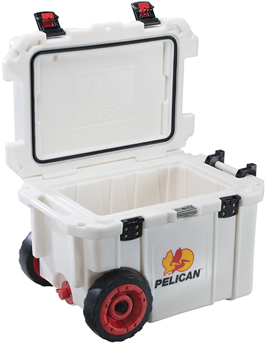 pelican products 45qw rolling wheeled super cooler
