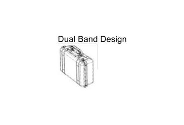 pelican trademark dual band case design