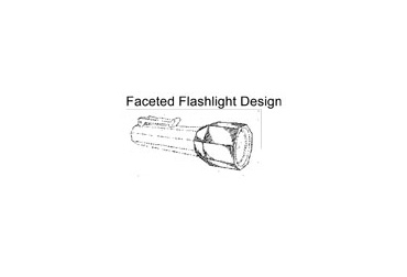 pelican trademark faceted flashlight design