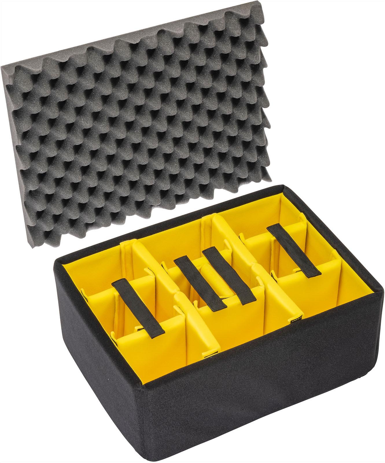 pelican air case 1557airds 1557 padded dividers