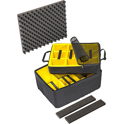 pelican air case 1607airds 1607 padded dividers
