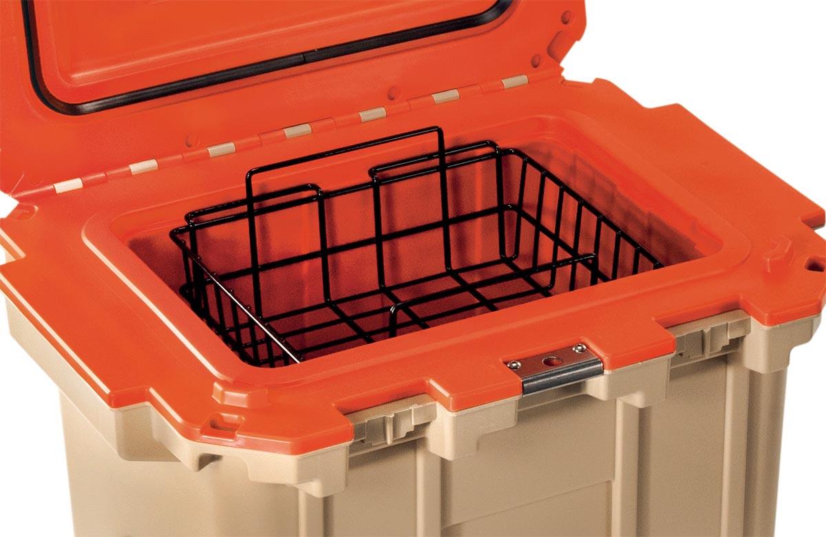 pelican 30 wb 30qt cooler dry rack basket