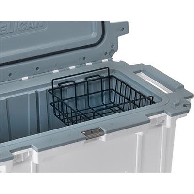 pelican peli 70 wb 70qt shop cooler dry rack basket
