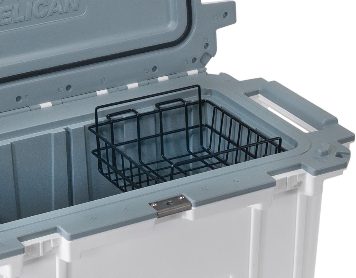pelican 70 wb 70qt cooler dry rack basket