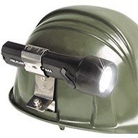 pelican peli light 750 helmet flashlight clip holder
