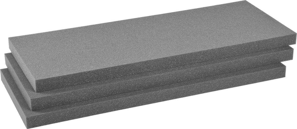 pelican 1701 replacement case foam set