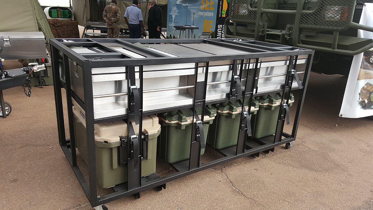 pelican professional blog coolers south african military