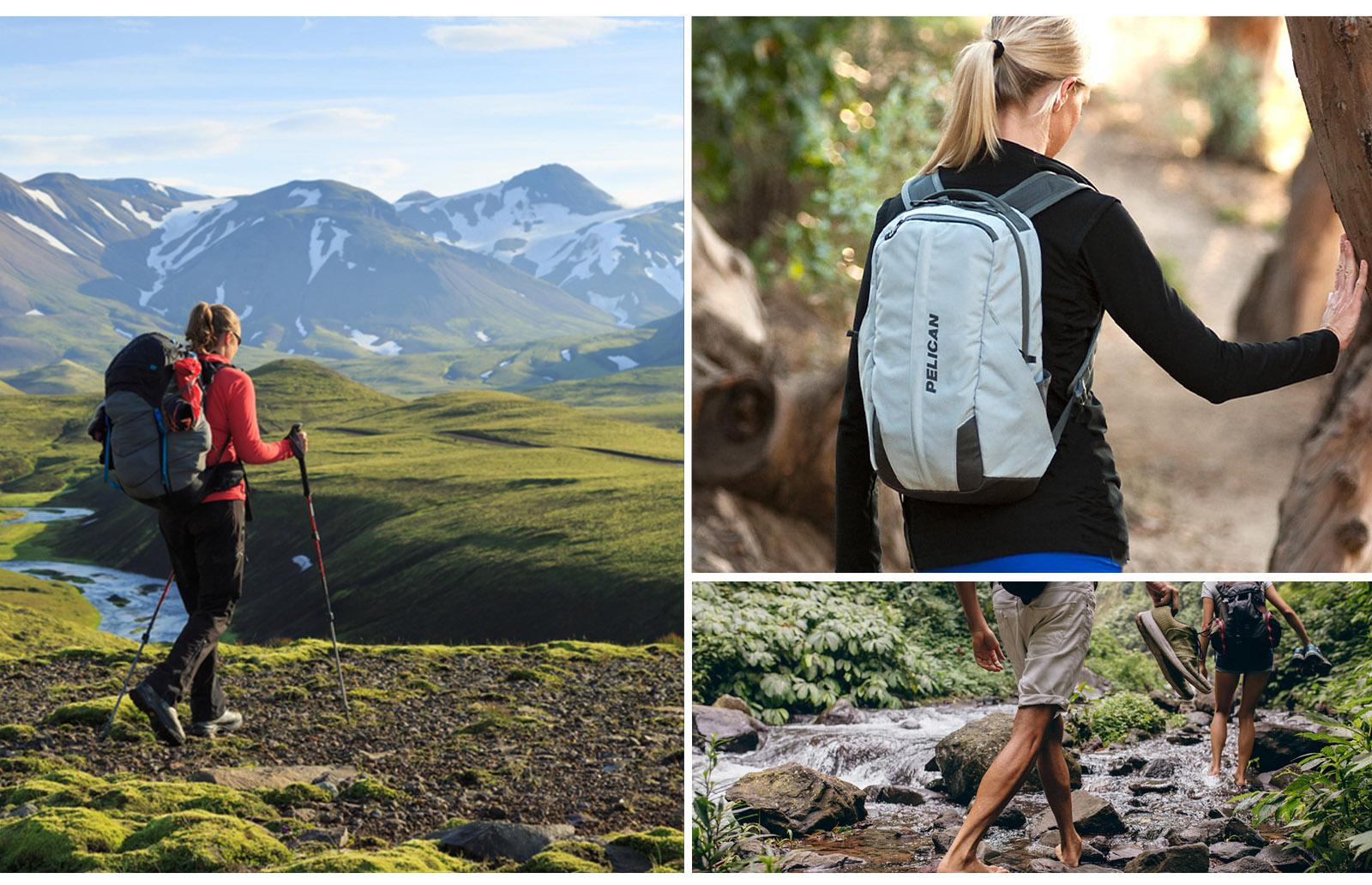 hiking ergonomic backpacks