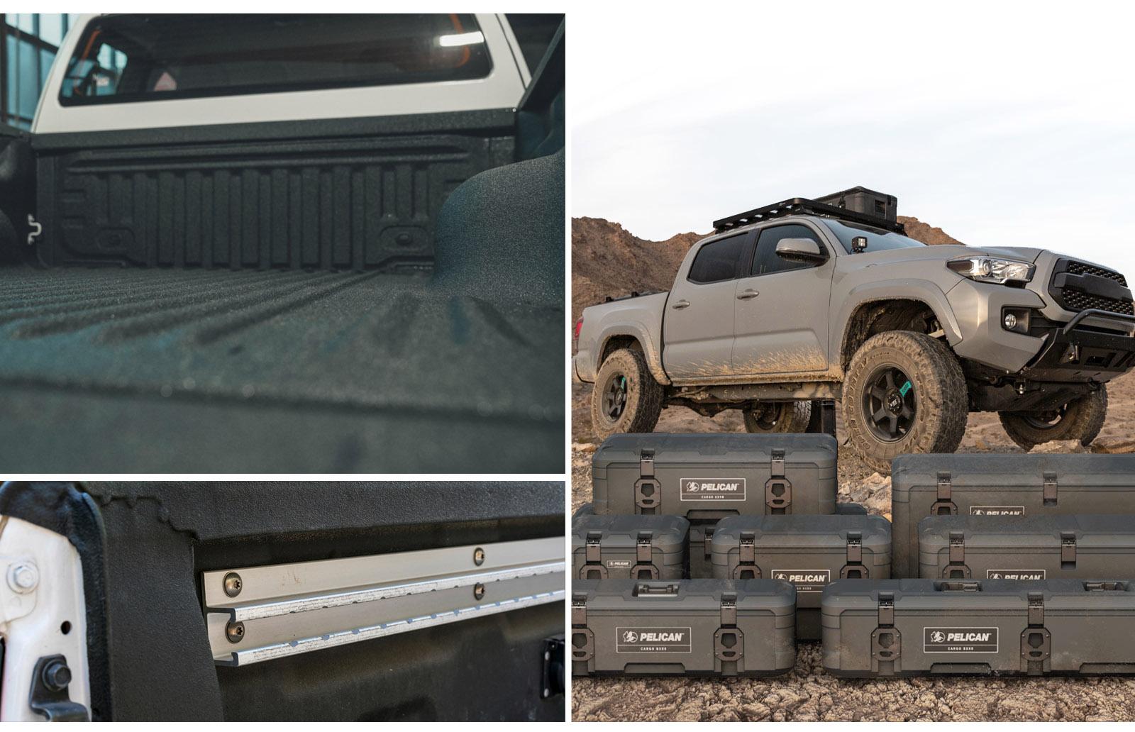 cargo cases truck bed mounts