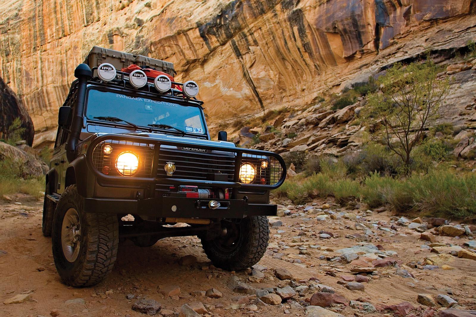 overlanding suv rugged road