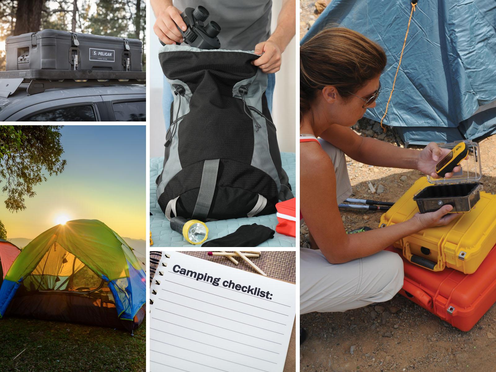 camping checklist organization