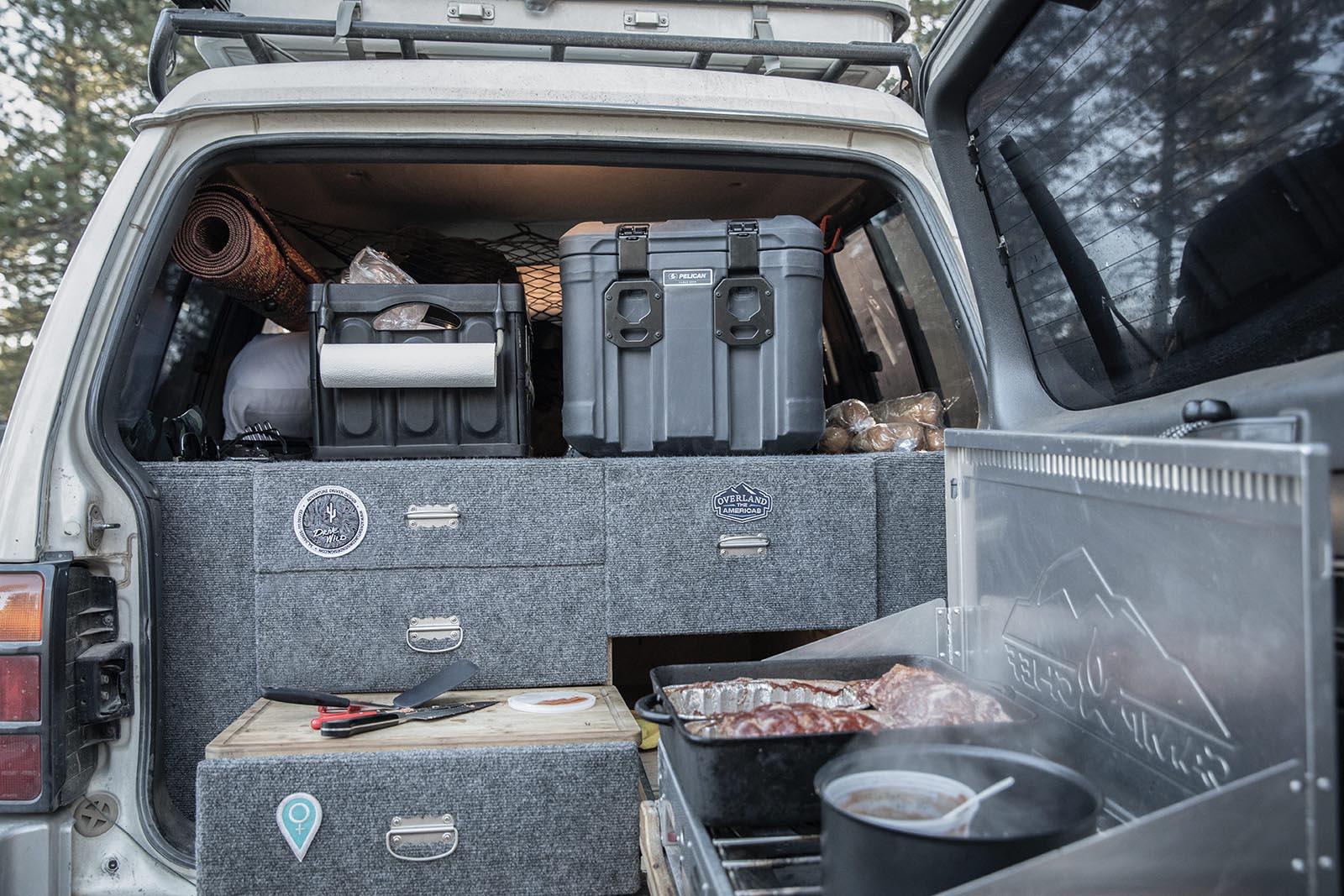cargo cases truck