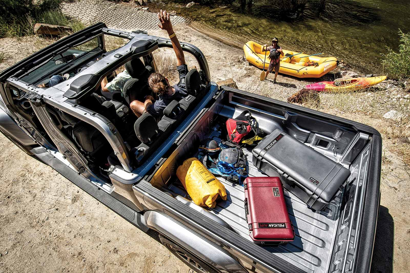 travel cases camping experience