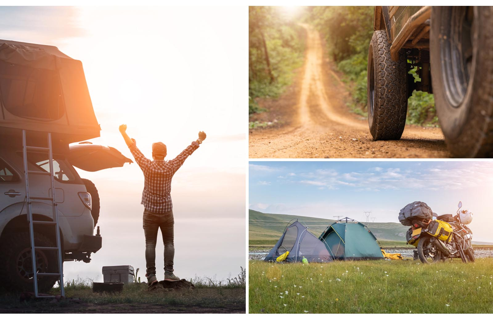 off road camping experiences