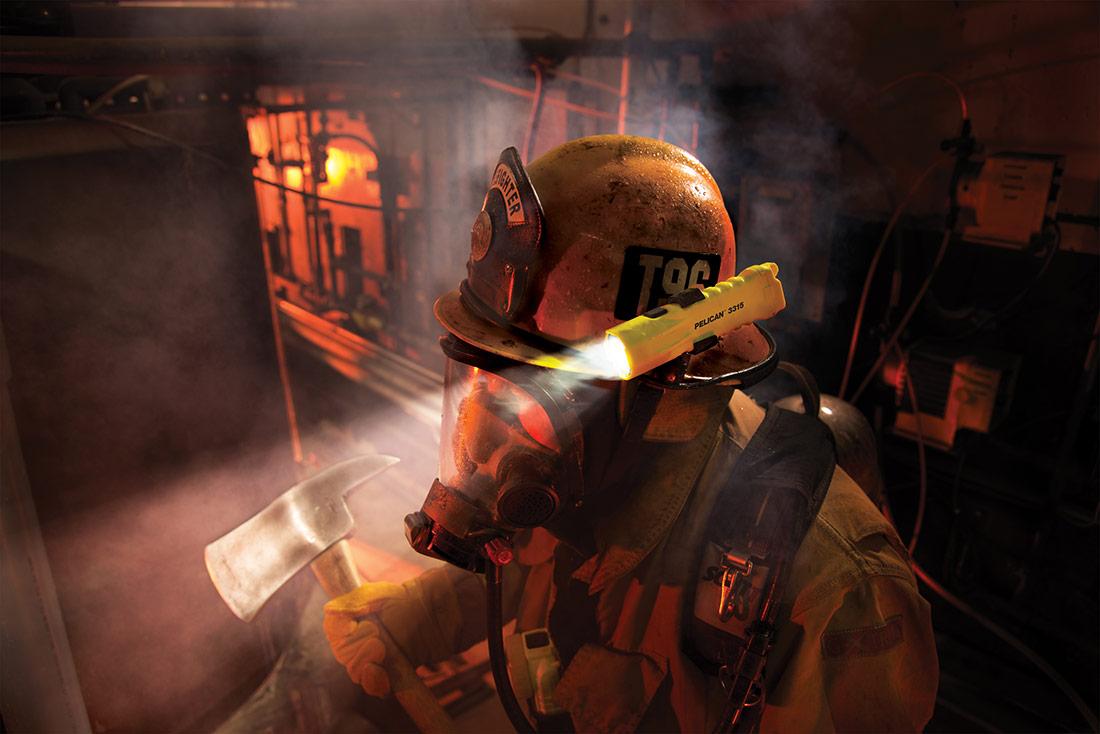 firefighter led flashlights