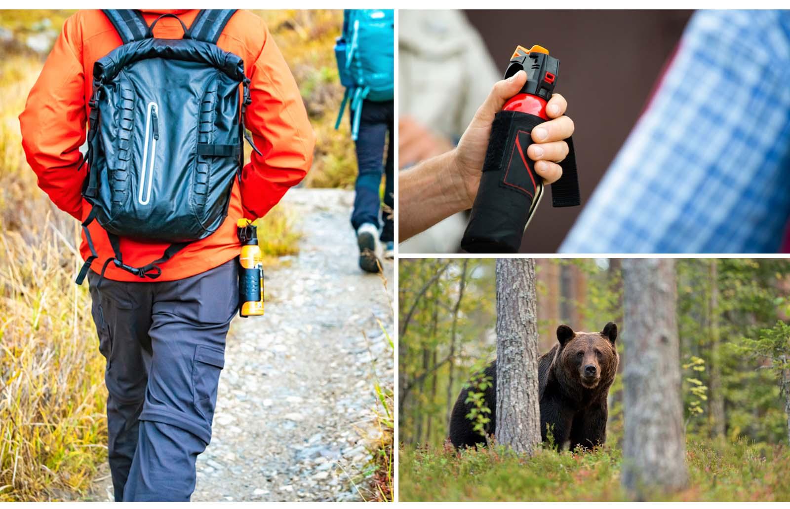 carrying bear spray