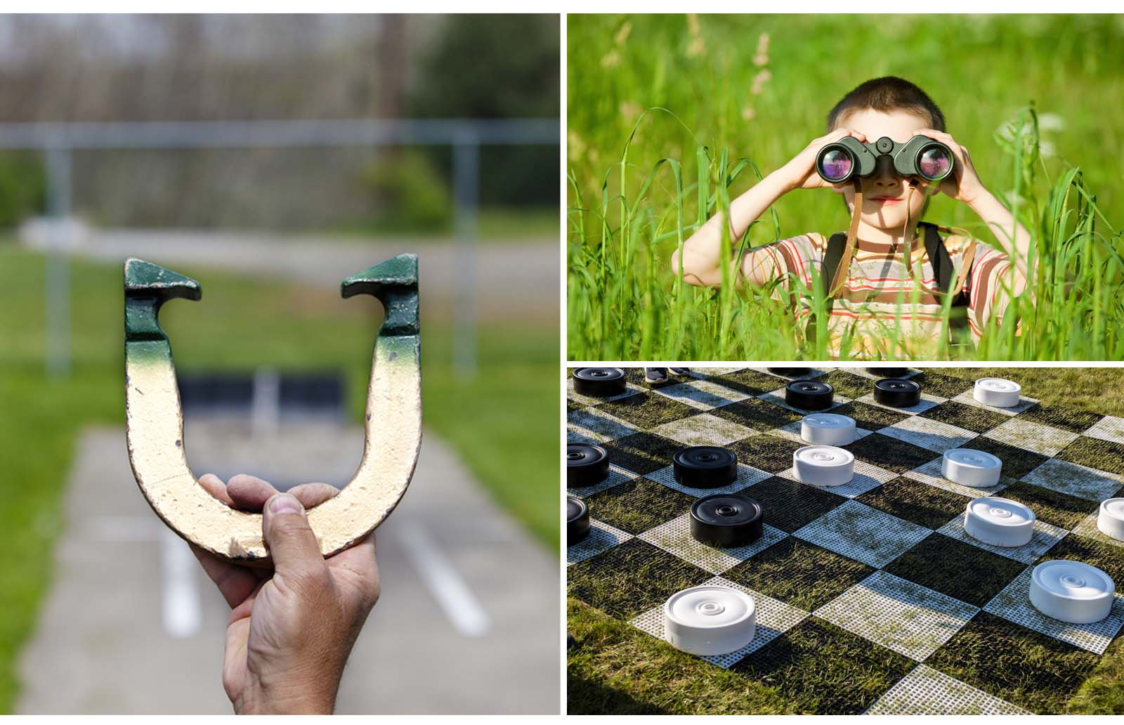 outside camping games