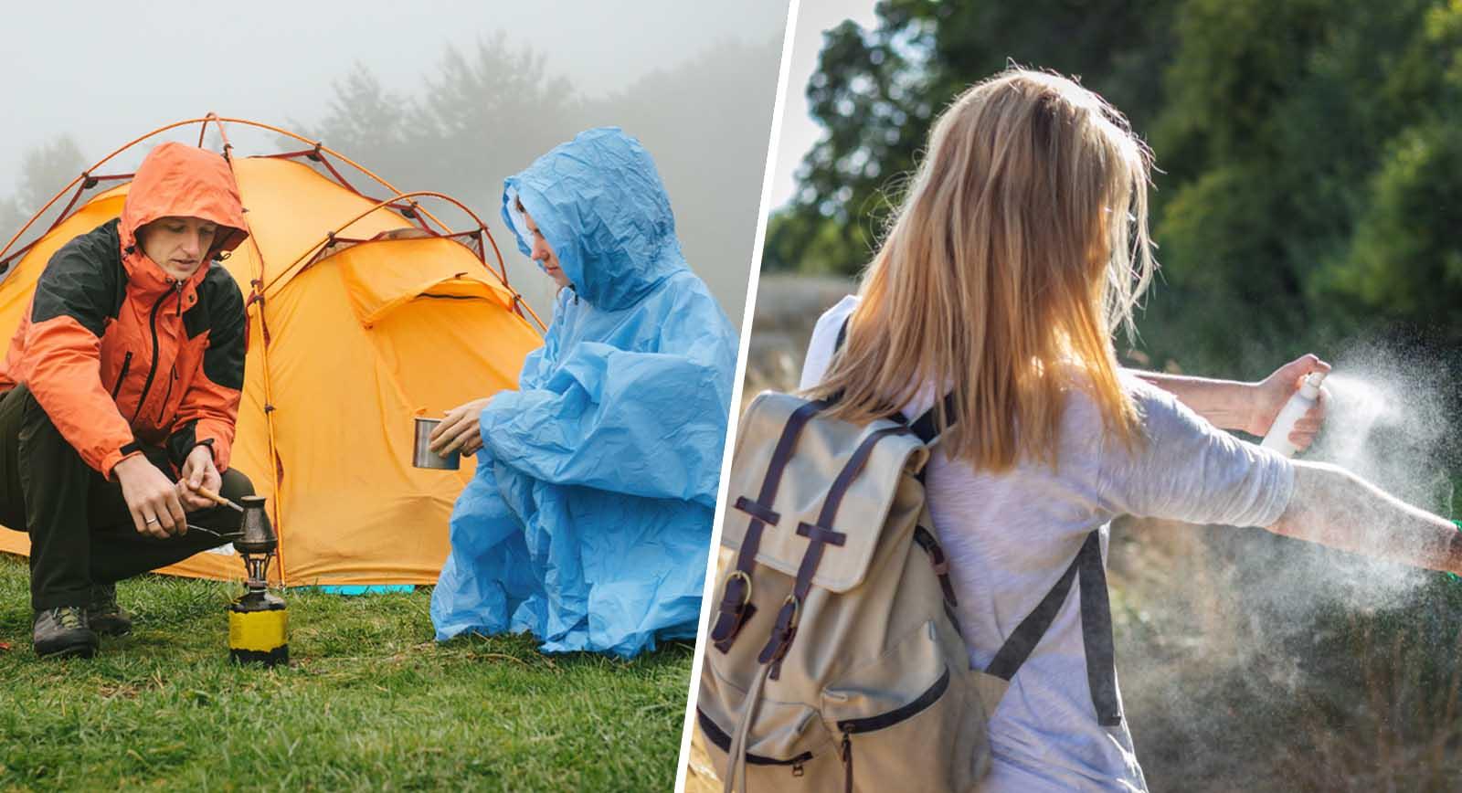 long camping adventure