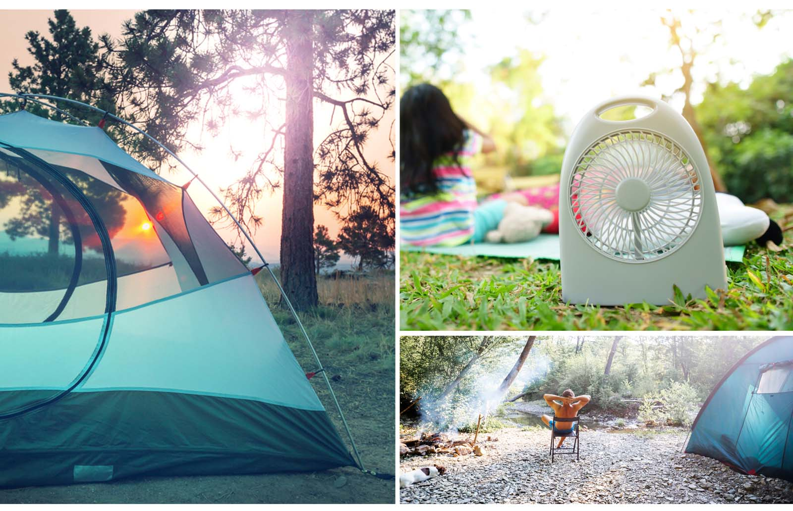 tips on how to keep a tent cool