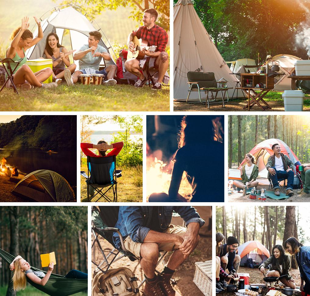 camping scenes