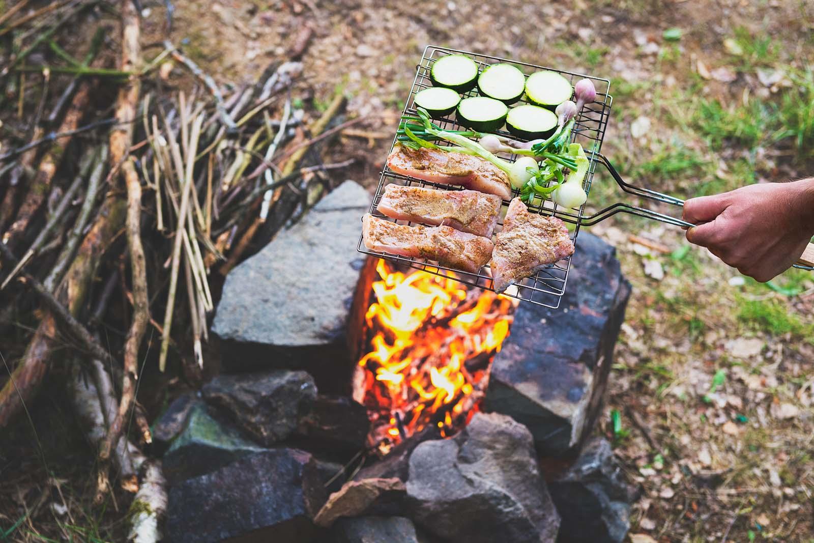 paleo camping food