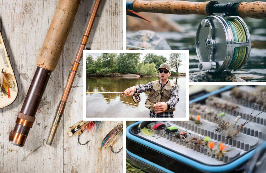 fly fishing parts