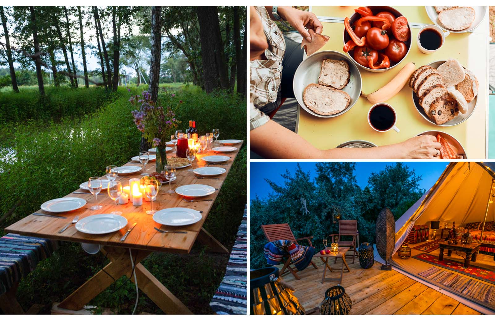 must have glamping essentials