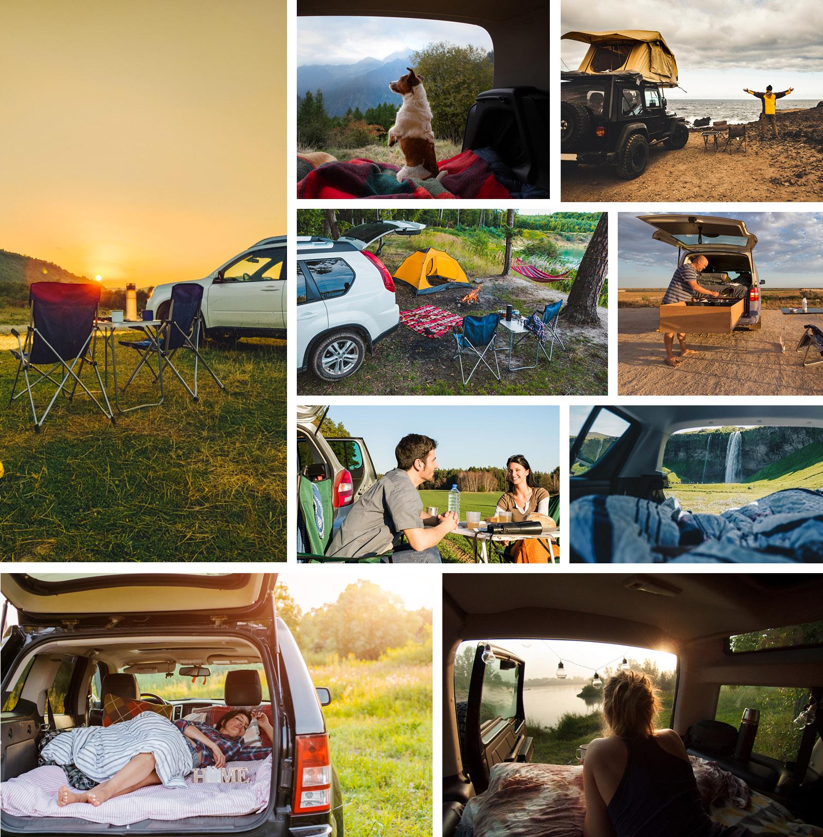 car camping travel
