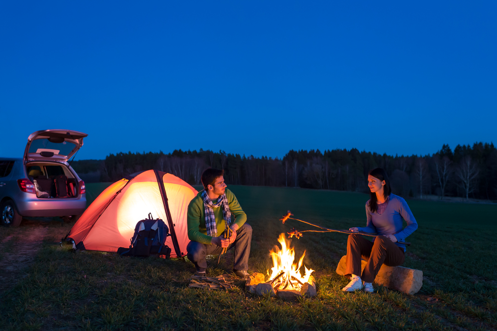tent camping car