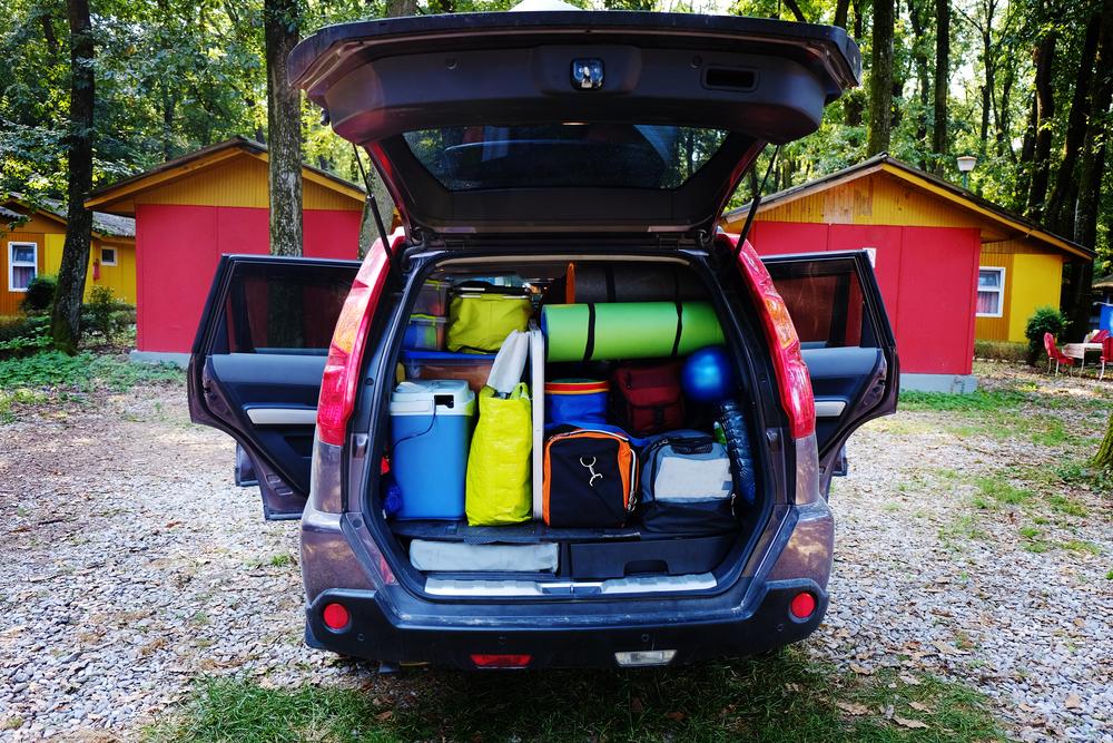 travel car camping luggage