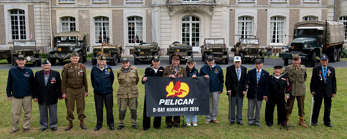 pelican professional blog best defense foudnation return to normandy d-day 75th anniversary