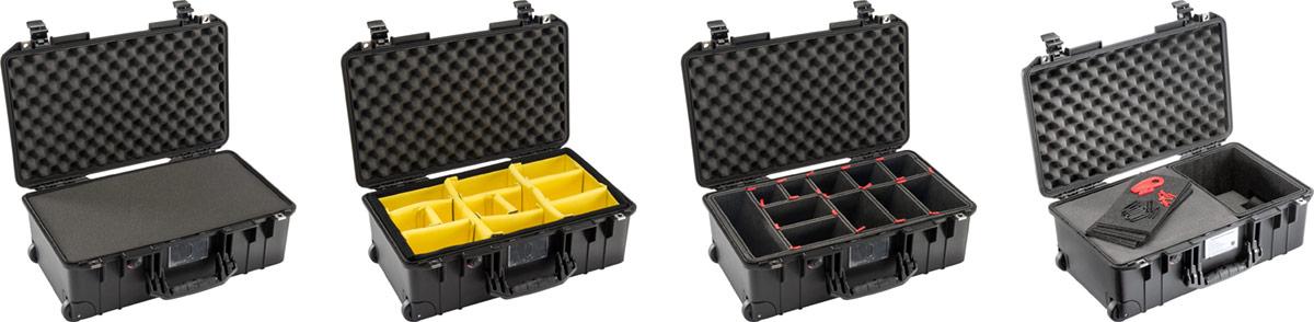 pelican professional blog custom padded trekpak divider case