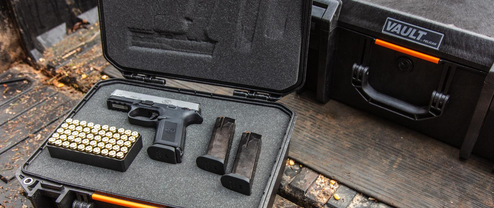 handgun shipment safety