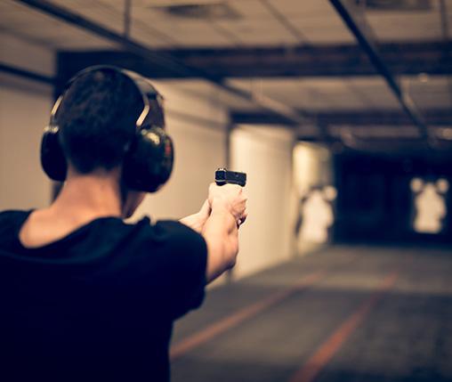 shooting range gun case