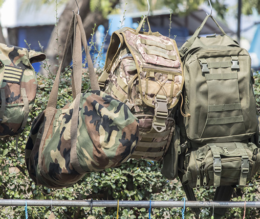 military outdoor rucksack