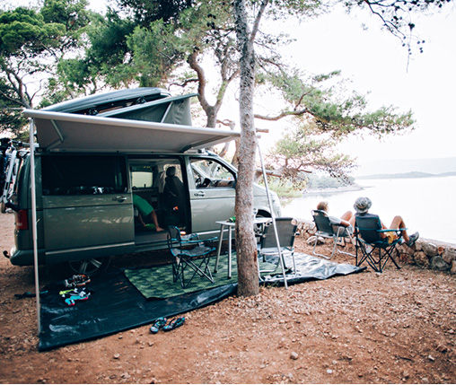 is dry camping legal