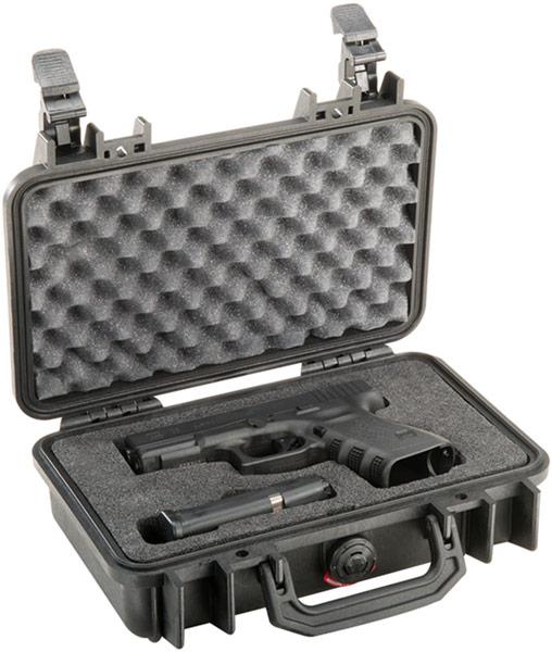 1170 pistol gun glock hard case