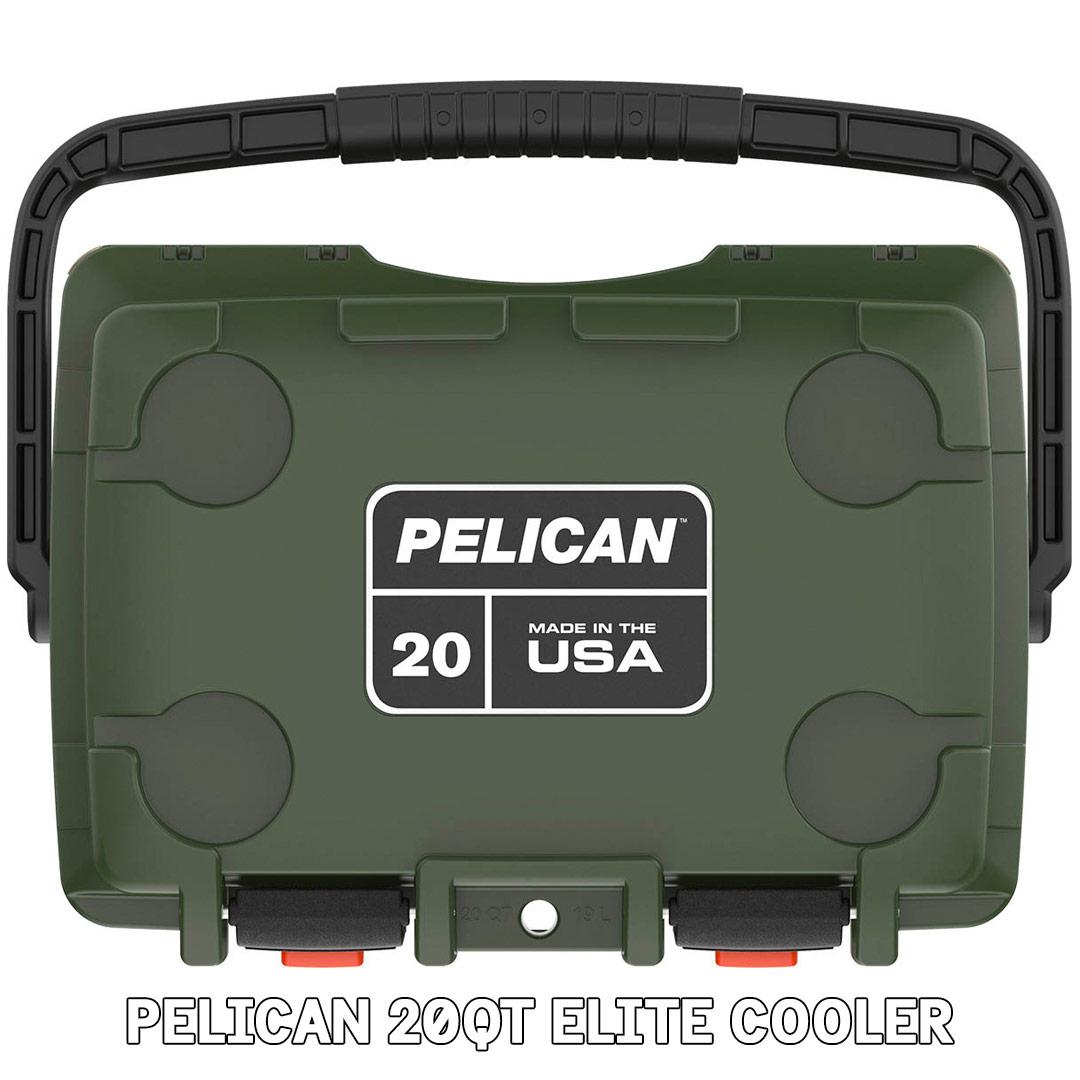 pelican consumer blog 20qt elite hard cooler cup holder
