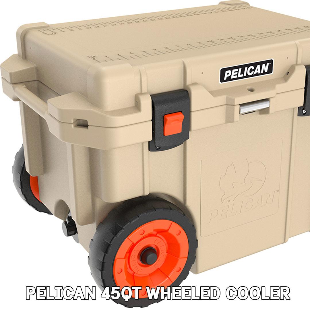 pelican consumer blog 45qt transport wheeled ice drink cooler