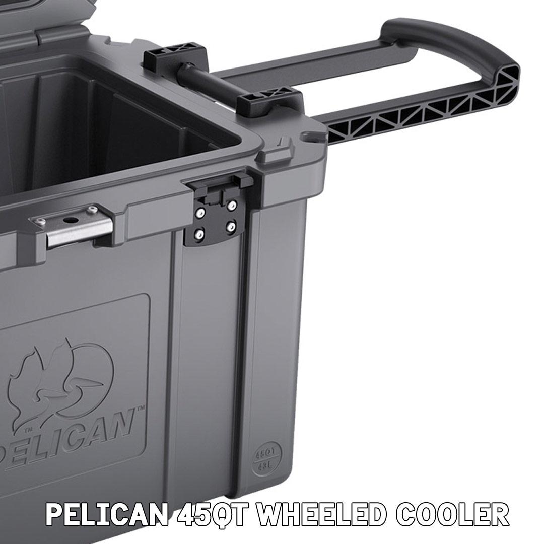 pelican consumer blog 45qt wheeled cooler trolly handle