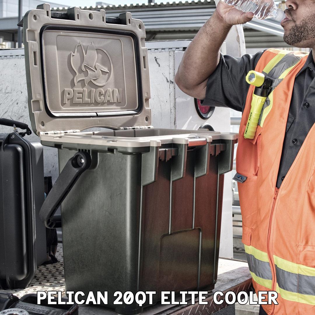 pelican consumer blog light elite rugged 20qt cooler