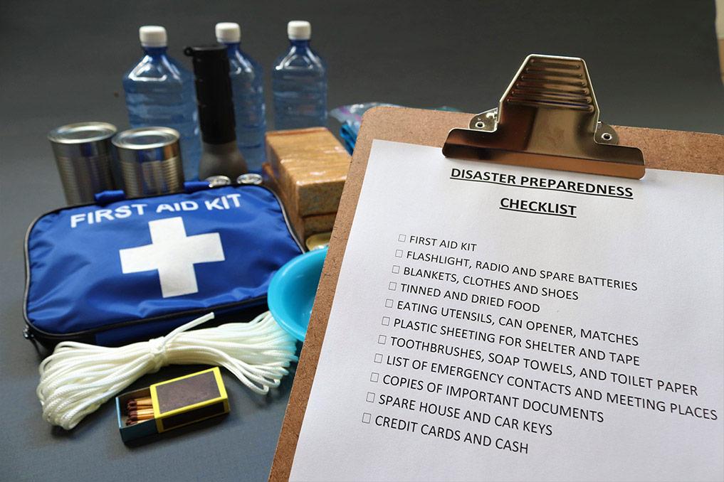 disaster preparedness checklist