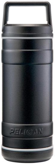 18oz water bottle in black