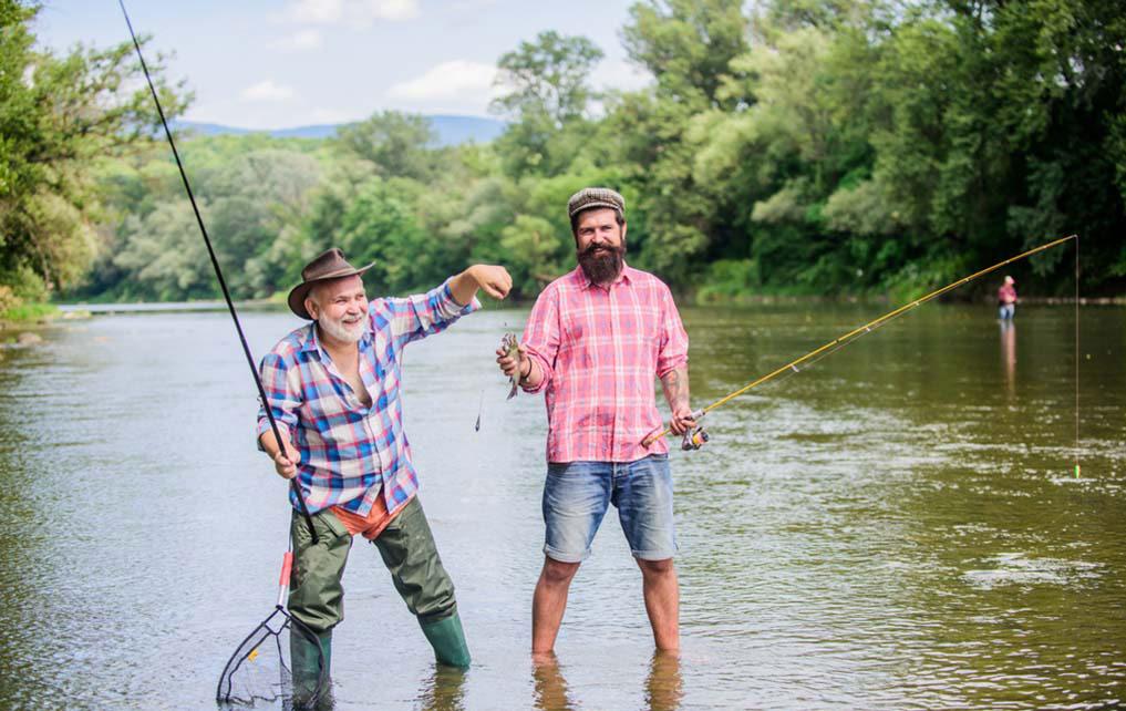 father son fishing trip