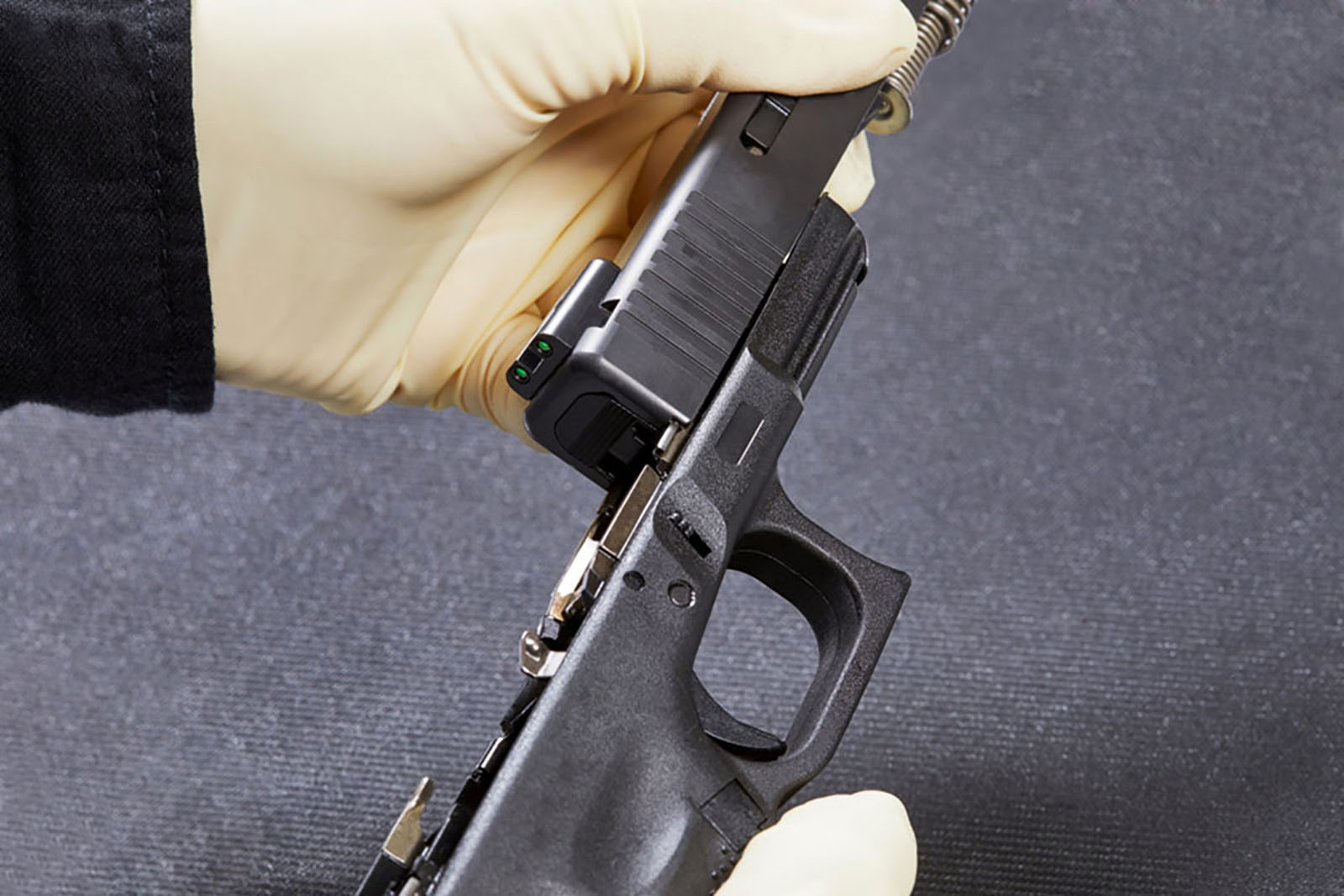 firearm gun reassembly