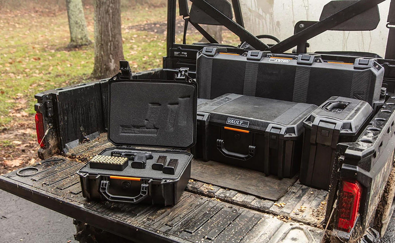 vault gun cases cleaning supplies